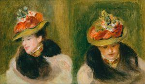 Double portrait de Jeanne Baudot by Pierre-Auguste Renoir contemporary artwork