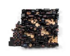 Number 15C by Leonardo Drew contemporary artwork