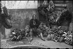 Brush dealer. Shanghai, September 1949 by Henri Cartier-Bresson contemporary artwork
