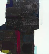 Patched Member (Notes) by Marie Le Lievre contemporary artwork painting, works on paper
