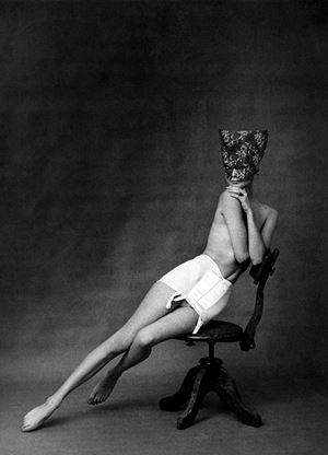Paris, ad for Chantelle lingerie by Frank Horvat contemporary artwork