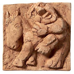 Relief 1 by Fadi Yazigi contemporary artwork