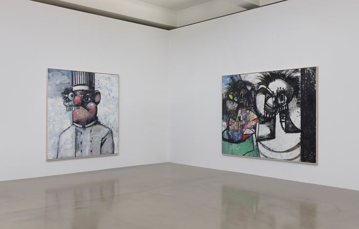 Exhibition view: George Condo, What's the Point?, Sprüth Magers, Los Angeles (9 April–1 June 2019). Courtesy the artist and Sprüth Magers.