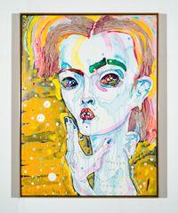 drunken love by Del Kathryn Barton contemporary artwork painting