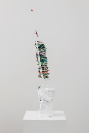 Tall Stack / Rave, with Fuzz Ball by Paul Pascal Thériault contemporary artwork