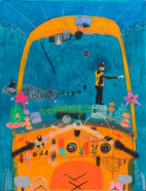 Tuk Tuk 2 by Wang Yuping contemporary artwork
