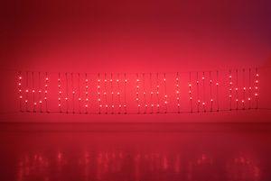 Untitled (America) by Glenn Ligon contemporary artwork