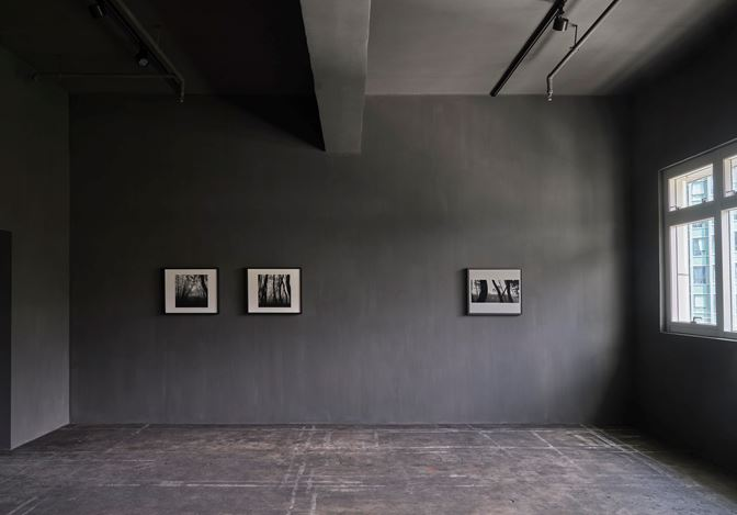 Exhibition view: Bae Bien-U, Memories of Wandering - Small-format works from the 80s, 90s, and early 2000s., Axel Vervoordt Gallery, Hong Kong (20 June–19 September 2020). Courtesy Axel Vervoordt Gallery.