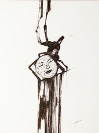 The Missing Face by Claire Lee contemporary artwork drawing