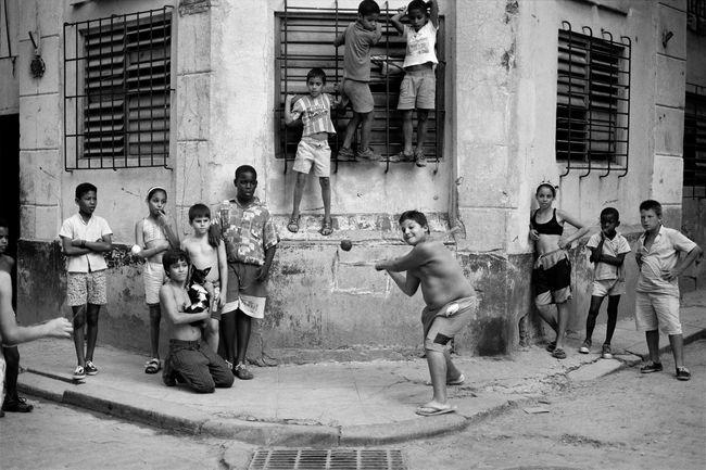 The Corner, Havana, Cuba by Walter Iooss Jr contemporary artwork