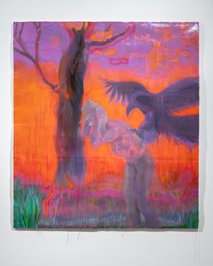 When They Roost On Hollow Men by Sedrick Chisom contemporary artwork