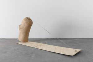 Self-balancing by Wang Lijun contemporary artwork