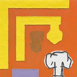 Memories of a Revised Past by Jonathan Lasker contemporary artwork