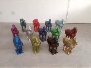 Horse by Ai Weiwei contemporary artwork