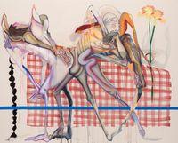 Tilt/Shift by Christina Quarles contemporary artwork painting