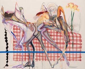 Tilt/Shift by Christina Quarles contemporary artwork