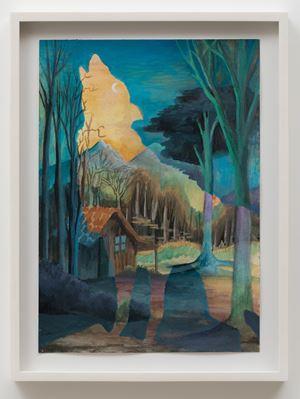 Hey Moon by Neil Raitt contemporary artwork