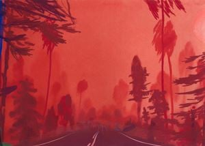 LN35 by Nicholas Woods contemporary artwork