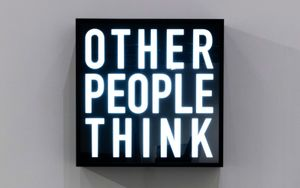 Other People Think by Alfredo Jaar contemporary artwork mixed media