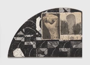 Untitled (Fist Building Correspondence) by Ray Johnson contemporary artwork