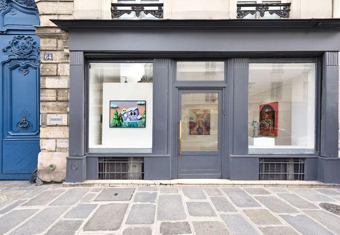 Exhibition view: Group Exhibition, Un Hiver à Gstaad Paris, Almine Rech, Paris (6–27 February 2021). Courtesy the Artists and Almine Rech.© Photo: Rebecca Fanuele.