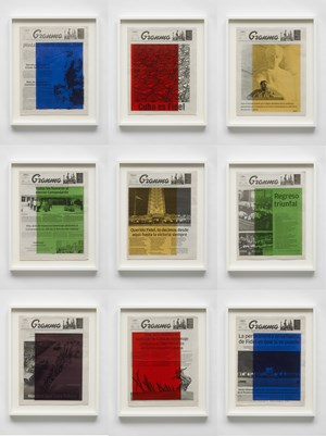 Art For Modern Architecture: Granma – Fidel Castro's Mourning. November 26,27,28,29,30 and December 1,2,3,4, 2016 by Marine Hugonnier contemporary artwork