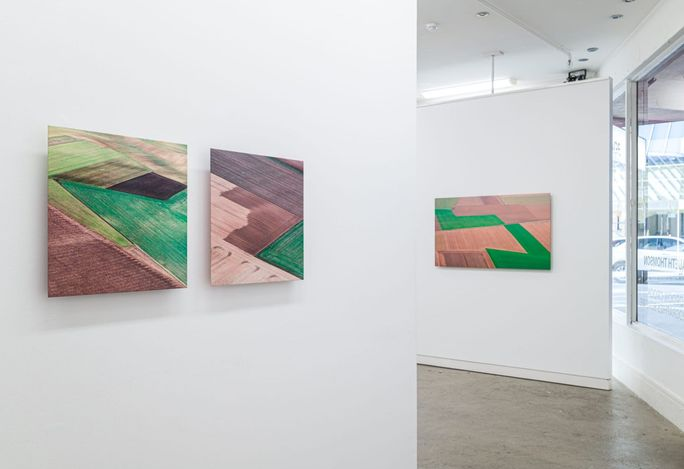 Exhibition view: Elizabeth Thomson, Cubist Encounters, PAGE Galleries, Wellington (24 June–17 July 2021). Courtesy PAGE Galleries.