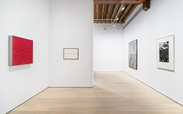Exhibition view: Group Exhibition,Love is Metaphysical Gravity,Lisson Gallery, Shanghai (22 March–11 May 2019). Courtesy Lisson Gallery.