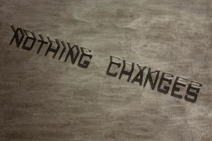 Nothing Changes by Tobias Bernstrup contemporary artwork sculpture