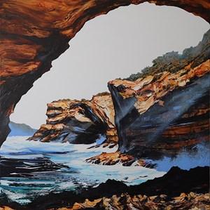 Wave Cave by Neil Frazer contemporary artwork