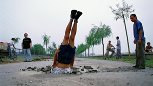 Li Wei falls to the Earth 035-01 by Li Wei contemporary artwork