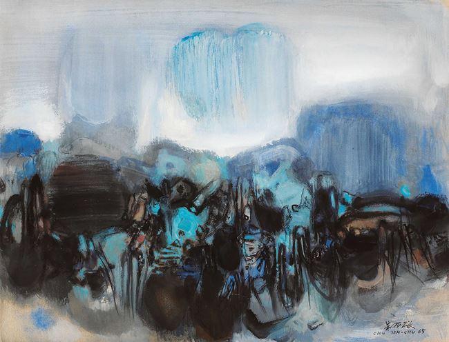 Composition - 1965 by Chu Teh-Chun contemporary artwork