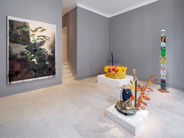 Exhibition view: Fantasy Island, Holtermann Fine Art, London (7 February–24 July 2020). Courtesy Holtermann Fine Art. Photo: Ollie Hammick.