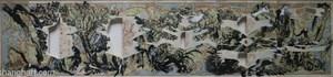 Japanese Railway Map in Showa Period by Sun Xun contemporary artwork