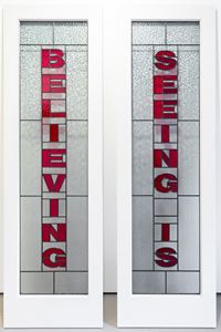 Seeing is Believing, 2020 by Mary-Louise Browne contemporary artwork sculpture