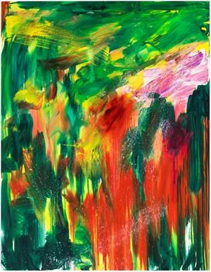 Ohne Titel by Herbert Brandl contemporary artwork