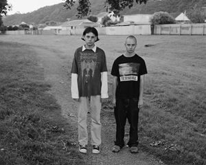 Untitled (Alex and Tommy), Wellington, New Zealand by Harry Culy contemporary artwork