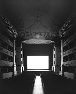 Teatro dei Rozzi, Siena by Hiroshi Sugimoto contemporary artwork