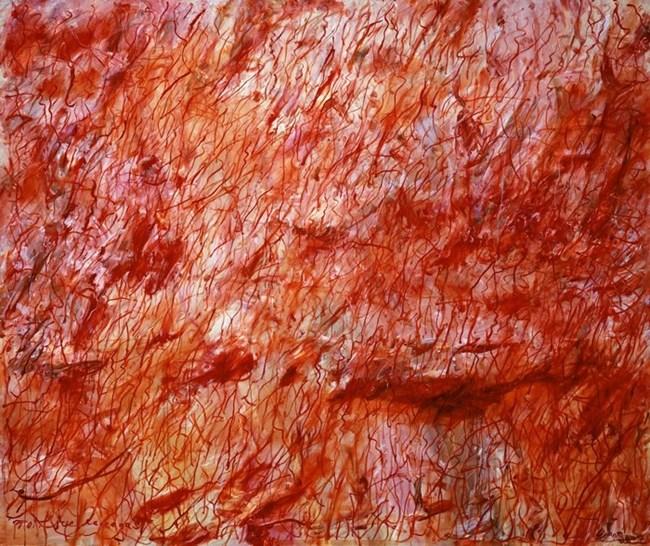 To Jose Carreras by Wang Chuan contemporary artwork