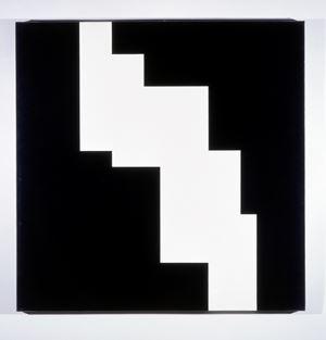 Structure du silence by Aurélie Nemours contemporary artwork
