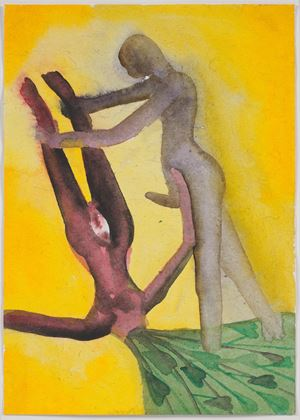 A Story Well Told IX by Francesco Clemente contemporary artwork