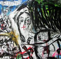 Forever Strong by Kaung Su contemporary artwork painting, drawing