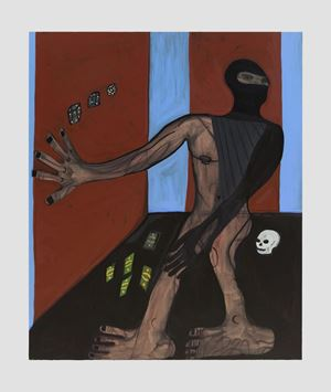 Thief in the Night by Marcus Jahmal contemporary artwork