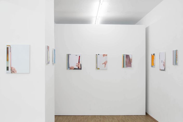 Exhibition view:Jonah Gebka, Take Your Time, Boutwell Schabrowsky, Munich (6 May–12 June 2021). CourtesyBoutwell Schabrowsky.