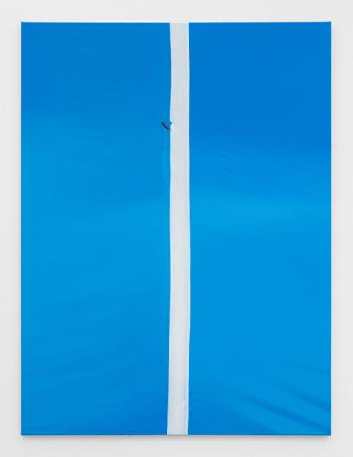 Blue, White, Blue by Marcel Vidal contemporary artwork