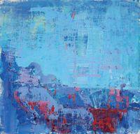 Pray with circuit world #2 by Yi Kai contemporary artwork painting