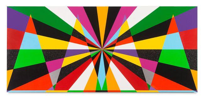 Untitled (Expansive Light Consciousness I) by Rico Gatson contemporary artwork