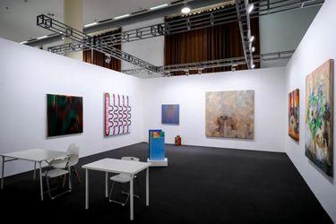 Exhibition view: Beijing Commune, Beijing Contemporary Art Expo (13–17 September 2021). Courtesy Beijing Commune, Beijing.