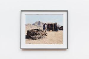 Johnny Basson, goatherd, Rooipad se Vlak, Pella, Northern Cape by David Goldblatt contemporary artwork