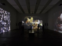 Kara Walker, Barbara Kruger, and Charles Atlas Dissect Modernity